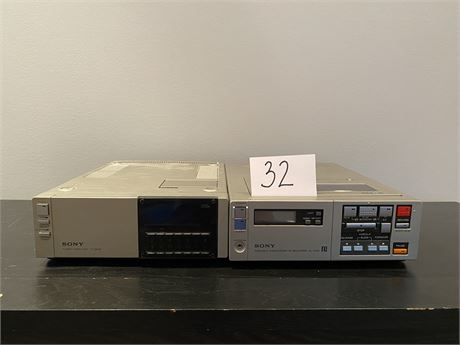 Sony Betamax SL 2000 with Remote and Blank Tape