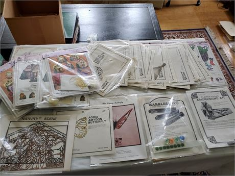 44 Stained Glass Patterns w Copper Filigree and Embellishments Kaleidoscope +