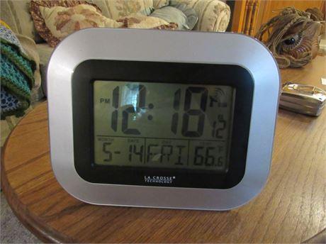La Crosse Clock & Thermometer