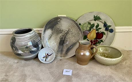 Beautiful Pottery Lot - See Photos for Details