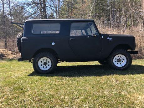 Rare  1969 International Scout 800 4X4 304 Posi Trac Vehicle
