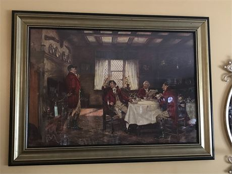 Beautiful Framed Print - After the Fox Hunt