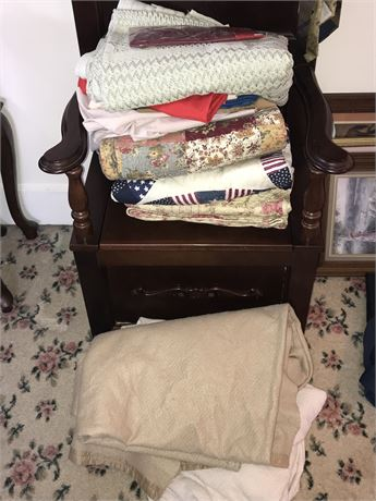 Blanket Lot including 3 Quilts