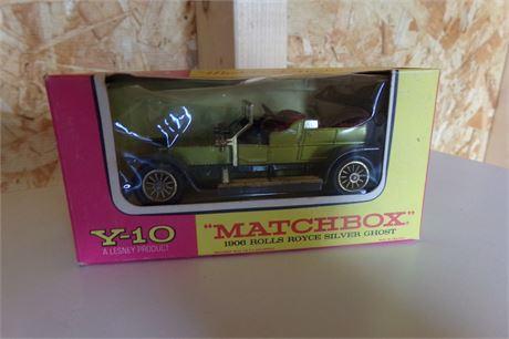 Lesney 1906 Rolls Royce matchbox car