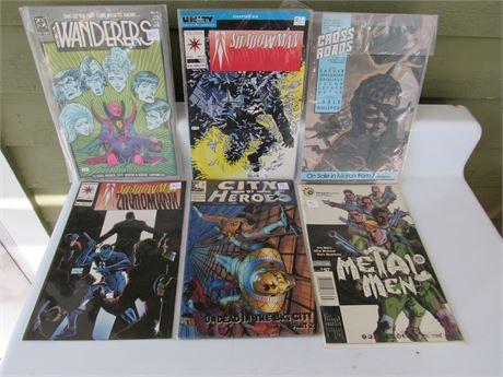 Comic Book Lot: Shadowman, Metal Men
