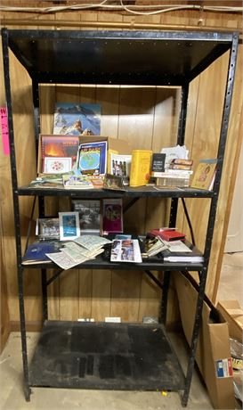 Shelving and Travel Lot - See Photos for Items