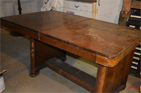 Antique Dining room table-As is-See description