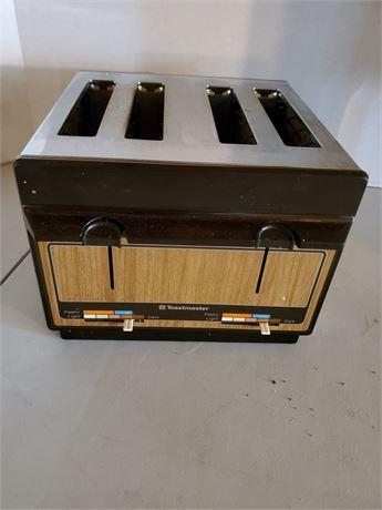 Vintage Toastmaster Toaster 4 Slice USA MADE