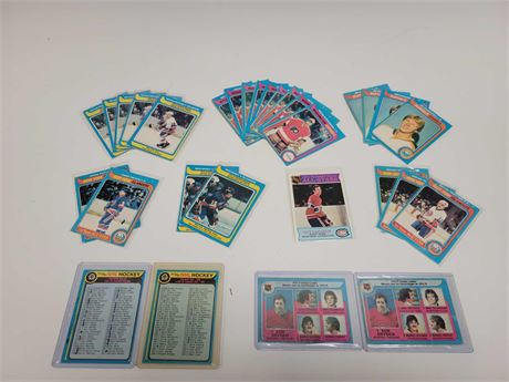 1979 O-Pee-Chee Hockey Cards and Check List