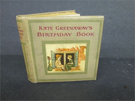 Vintage Kate Greenaway Birthday Book - Great Britain Book