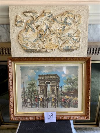 Miscellaneous Art Lot