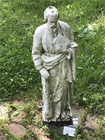 Cement Religious Figurine