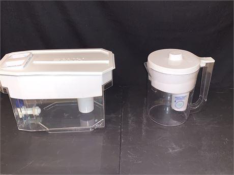 Brita Pitcher and Brita UltraMax Dispenser