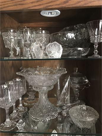 2 Shelves of Crystal
