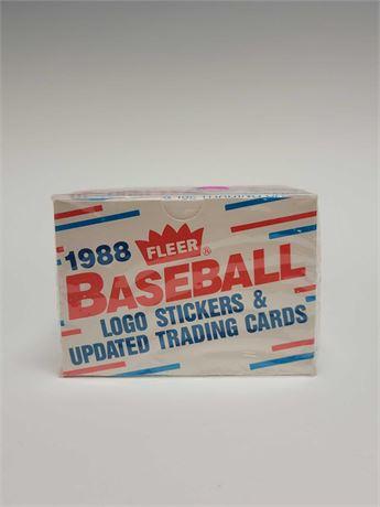 1988 Fleer Update Baseball Card Set