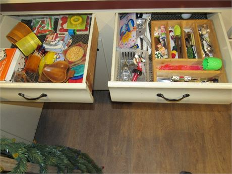 Bar Drawer Clean Out