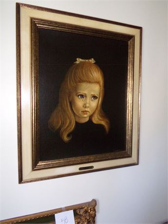Framed Picture- Teardrop- Spencer