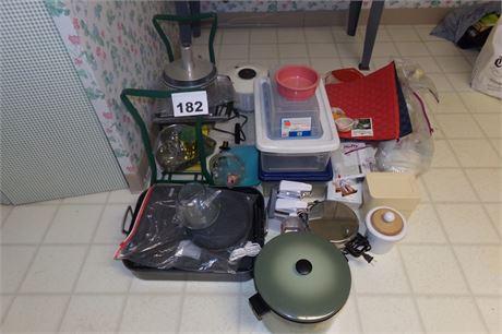 Kitchen cleanout lot