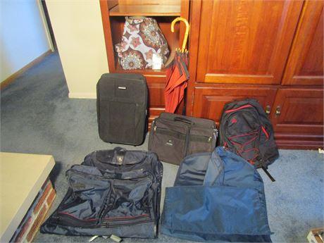 Luggage and Umbrellas