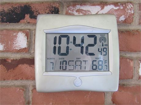 GE Clock Thermometer