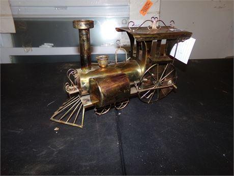Copper Train Music Box