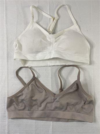 Girls training bras. 2. Size small.