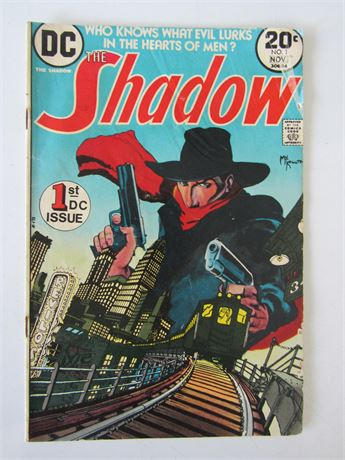 The Shadow Comic 1st DC Issue