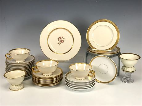 Rosenthal, Limoges, Lenox and Nippon China Partial Sets