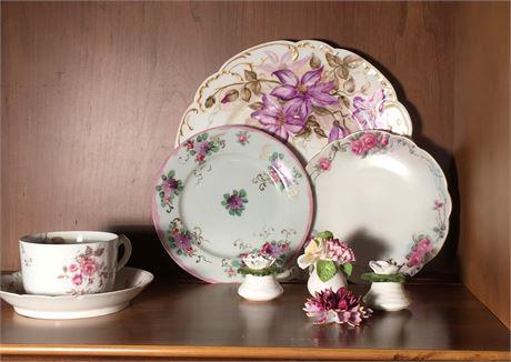 Haviland & Co. China Plates and English Bone China