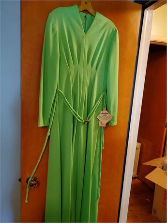 Vintage Joan Curtis Maxi Dress NWT
