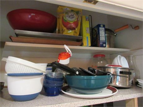 Kitchen Cupboard Clean Out - Misc