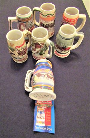 Budweiser Clydesdales Collectable Beer Steins #2