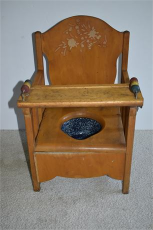 Vintage Storkline Potty Training Chair-Made in USA (Chicago, IL)