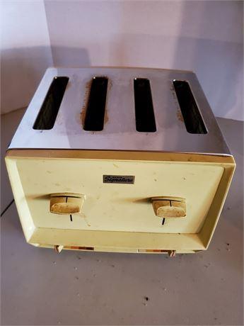 Vintage Wards Signature Toaster