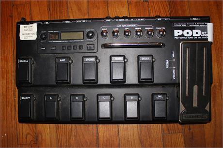 POD XT Line 6 Live Multi-Effect Guitar Pedal