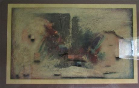 Large Abstract Picture Art