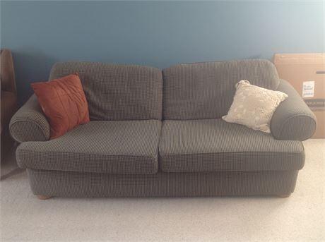 Custom Upholstered Sofa plus Pillows
