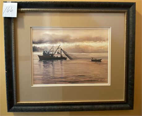 Charlen Jeffery Signed and Framed Print