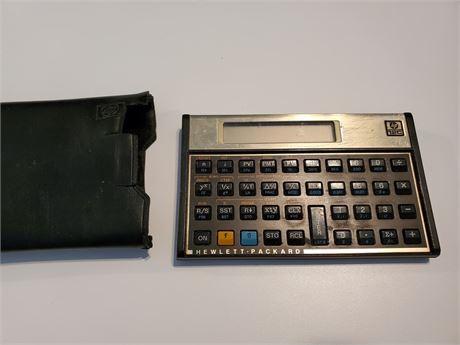 Vintage HP 12-C Calculator