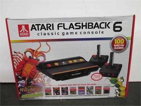 ATARI Flashback 6 Classic Retro Game Console w 2 Controllers