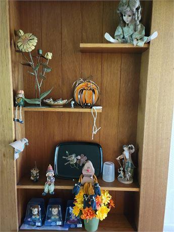 Home Decor - Shelf Lot