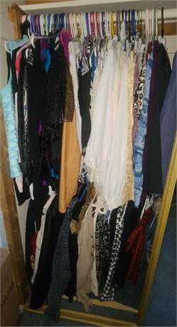 Closet Clean-out:Women's Clothes (SUMMER/WINTER SWEATERS, DRESSES, SUITS, VESTS