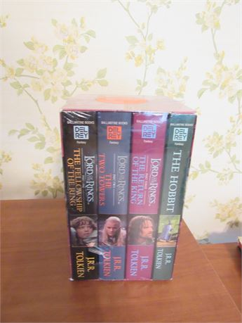 Lord of the Rings Paperback set, Sealed
