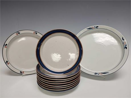 Tienshan Fine China Partial Dinnerware Set