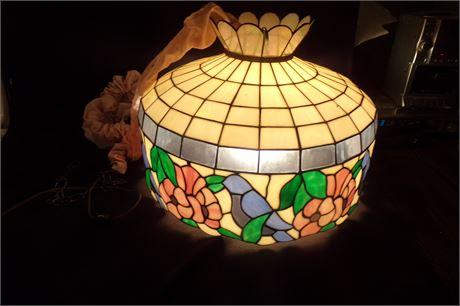 Vintage Tiffany style light fixture