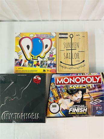 Board Game Lot. 4 Games
