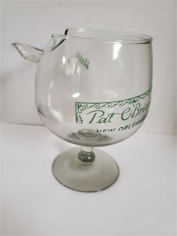 Vintage Pat O'Brien's New Orleans Snifter