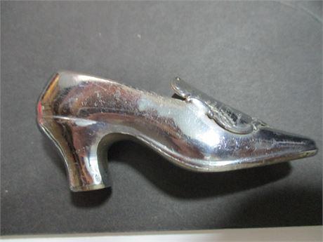 "Antique 1939 3"" Japan World's Fair Slipper Souvenir"