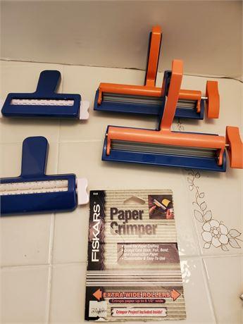 Paper Crimpers