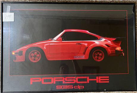 Porsche 935dp Contemporary Framed Poster